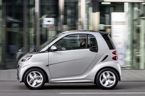 Photo courtesy smart car.