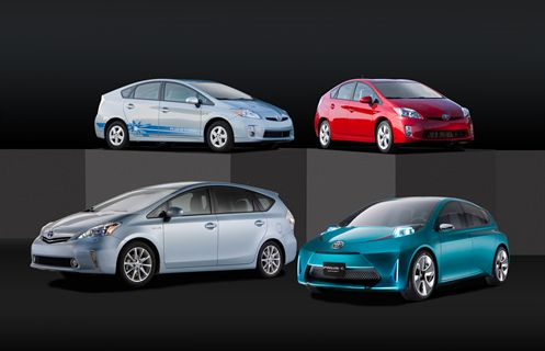 toyota introduces new prius models at 2011 naias news automotive fleet. Black Bedroom Furniture Sets. Home Design Ideas