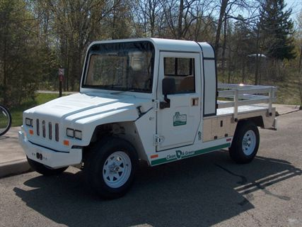 Waunakee Wi Wisconsin Department Of Natural Resources Dnr Recently Unveiled Its First E Ride Electric Vehicle To Be Used At State Parks This Year