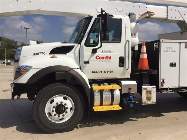 ComEd, which was named a Top Green Fleet by Chicago Area Clean Cities,