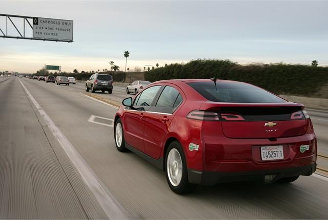 Photo of Chevrolet Volt courtesy of General Motors.