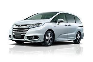 Photo of Odyseey Hybrid courtesy of Honda.