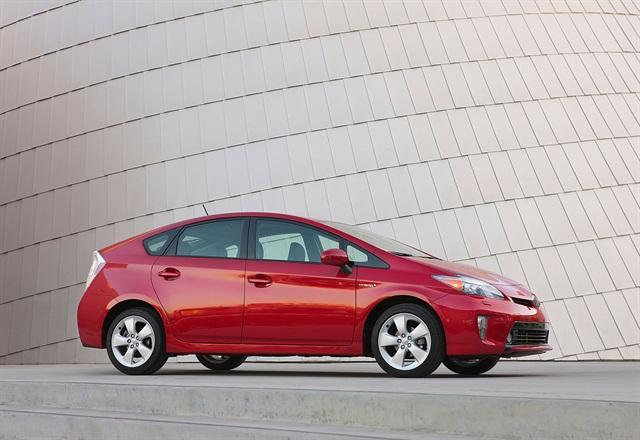 2015 Prius, photo courtesy of Toyota.