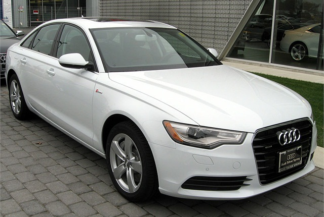 Photo of 2012 Audi A6 by IFCAR via Wikimedia Commons.