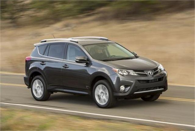 Photo of Toyota RAV4 courtesy of Toyota.