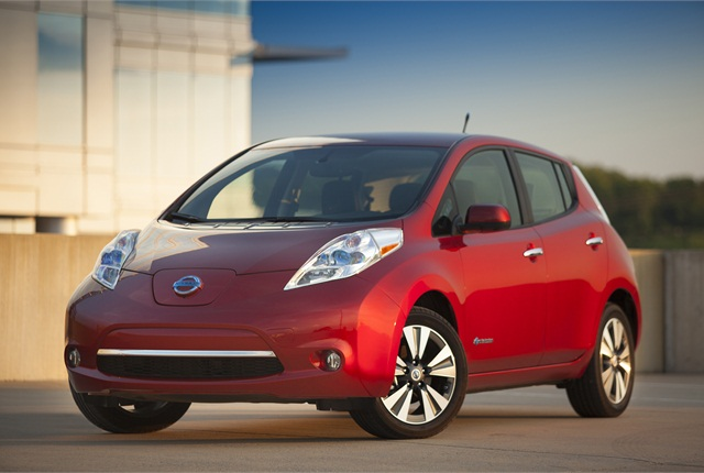 Photo of current-generation LEAF courtesy of Nissan.