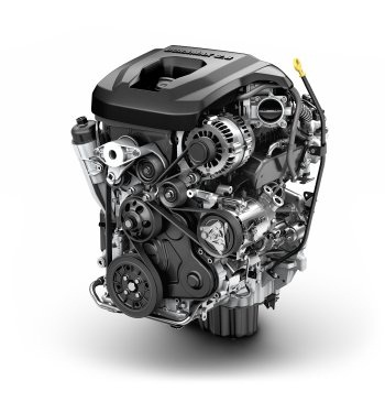 The 2016 GMC Canyon will feature an available 2.8L Duramax turbo-diesel engine. (PHOTO: GM)