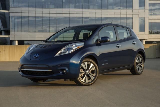 Photo of Nissan Leaf courtesy of Nissan.