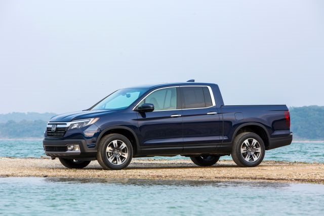 2017 Honda Ridgeline (photo courtesy of Honda)