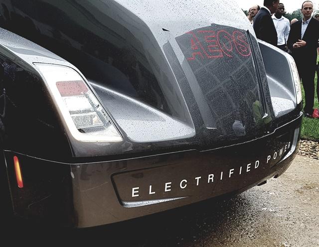 Cummins has developed an electric technology demonstration vehicle. Photos: Jim Park