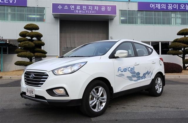ix35 FCV Photo courtesy of Hyundai