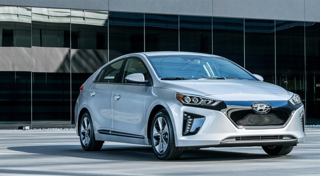 Hyundai's Ioniq model will be part of the new electric carsharing service in South Korea. Photo courtesy of Hyundai