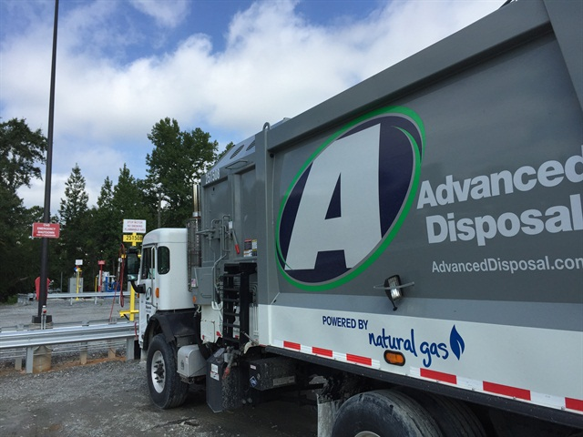 Photo courtesy of Advanced Disposal.
