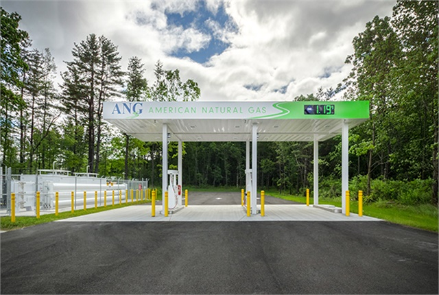 Photo of American Natural Gas station courtesy of ANG.