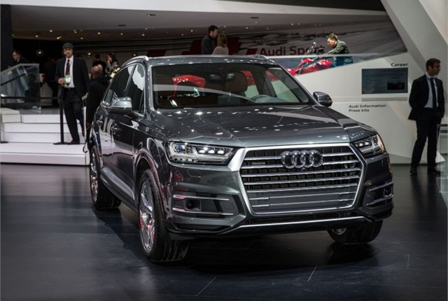Photo of 2016 Q7 courtesy of Audi.