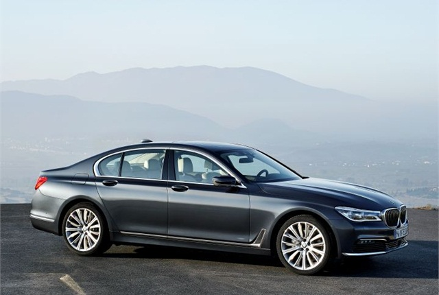 Photo of 2016 7 Series courtesy of BMW.