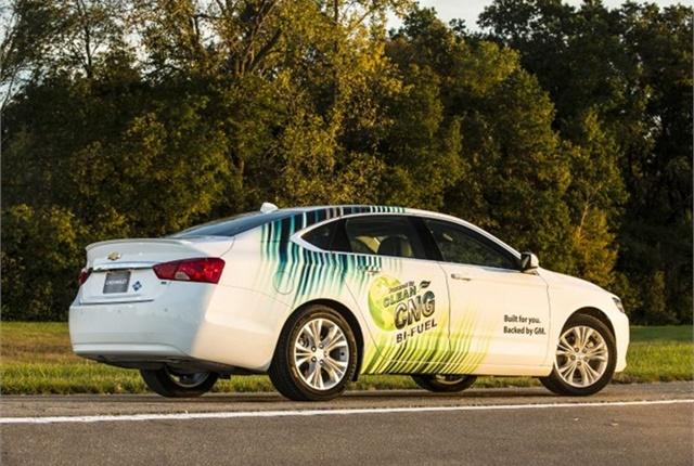 Photo of Chevrolet Impala CNG courtesy of GM.