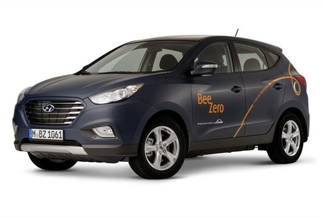 Hyundai ix35 Fuel Cell with BeeZero design. Photo Courtesy of Hyundai.