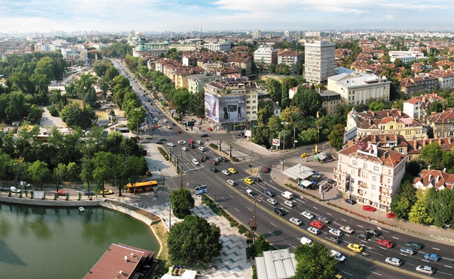 Downtown Sofia, Bulgaria. Photo via Boby Dimitrov/Wikimedia