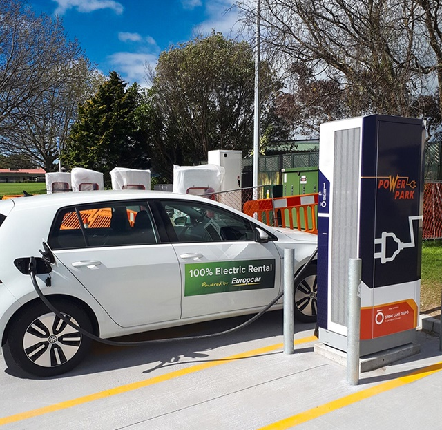 Europcar New Zealand is now renting all-electric e-Golfs. Photo courtesy of Europcar.