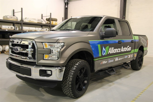 Photo of Ford F-150 courtesy of Alliance AutoGas