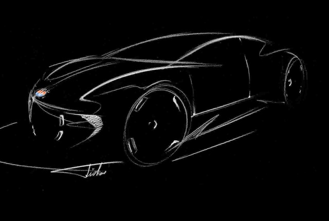 Illustration of the concept car courtesy of Fisker Inc.