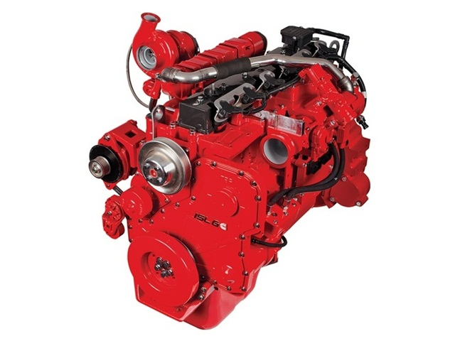 A Cummins Westport ISL G engine. Photo: Cummins Westport