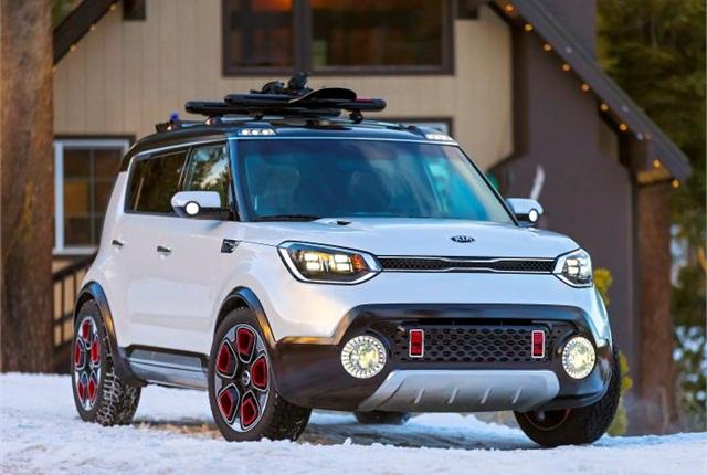 Photo of Trail'ster concept courtesy of Kia Motors.