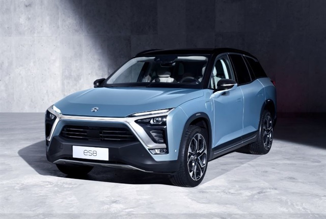 The ES8 SUV courtesy of Nio.