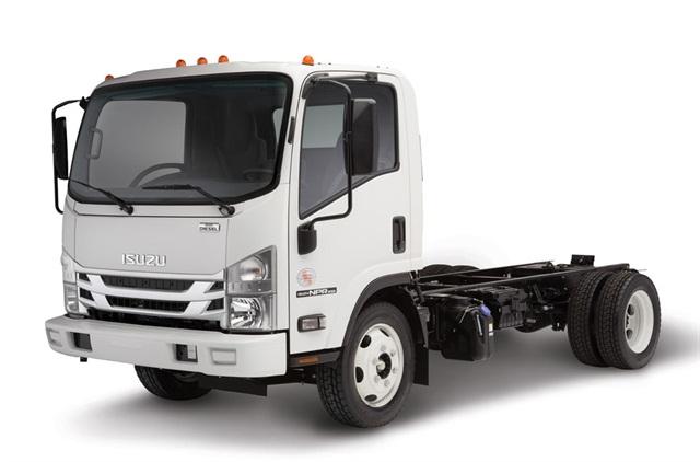 Isuzu NPR-XD. Photo via Isuzu Commercial Truck of America.