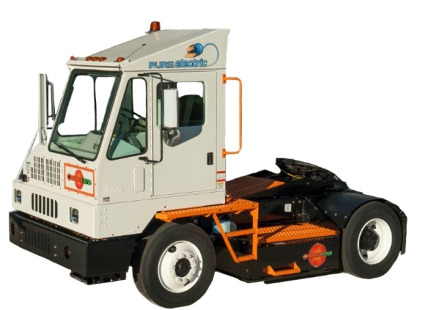 Orange EV Class 8 pure-electric heavy-duty terminal truck. (PHOTO: Orange EV)