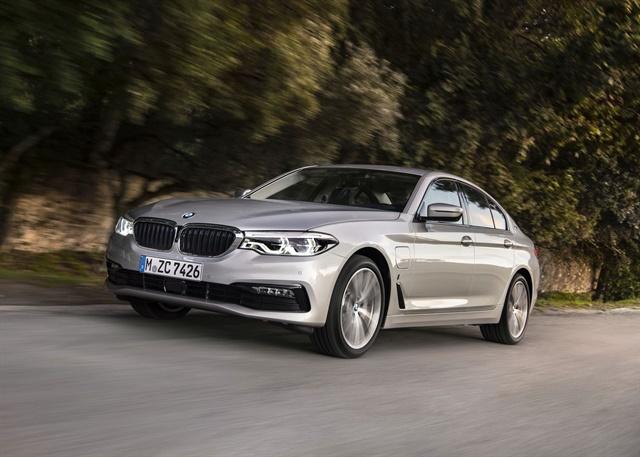 Photo of 2018 530e courtesy of BMW.