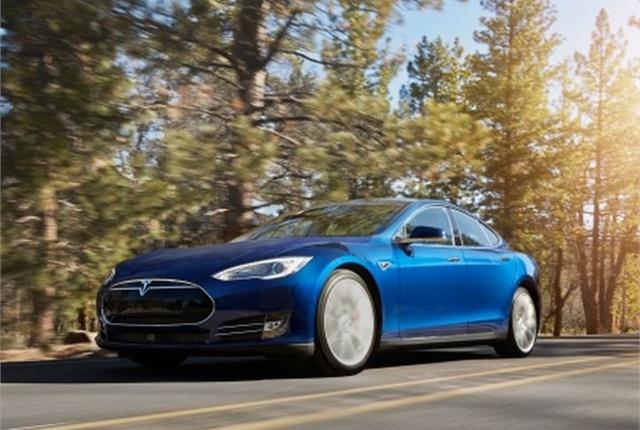 Photo of Model S courtesy of Tesla.