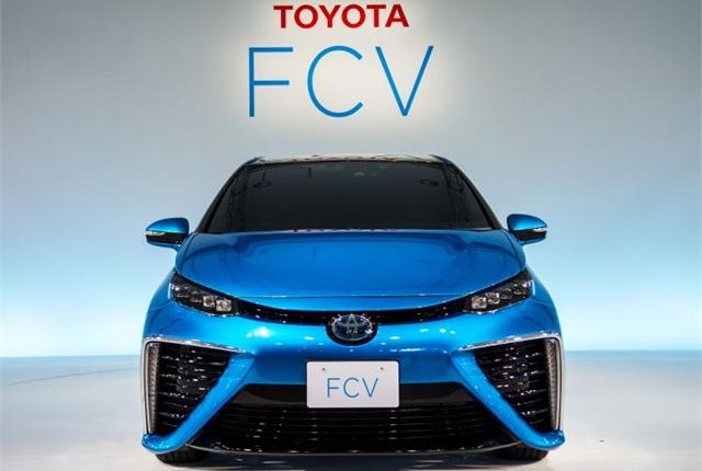 Photo of FCV courtesy of Toyota.