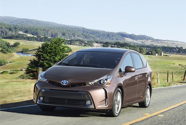 Photo of 2015 Prius V courtesy of Toyota.