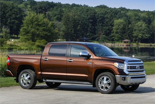 Photo of third-generation (current) Tundra courtesy of Toyota.