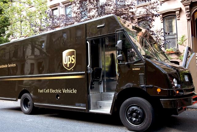 Photo courtesy of UPS.