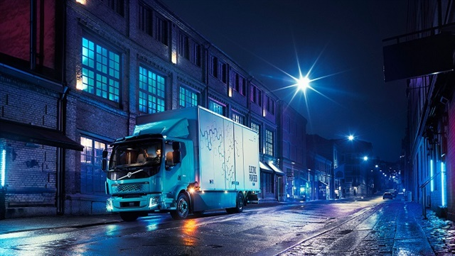 Volvo's new FL Electric Truck will have a daily range of approximately 186 miles and will enter serial production in Europe next year. Photo: Volvo