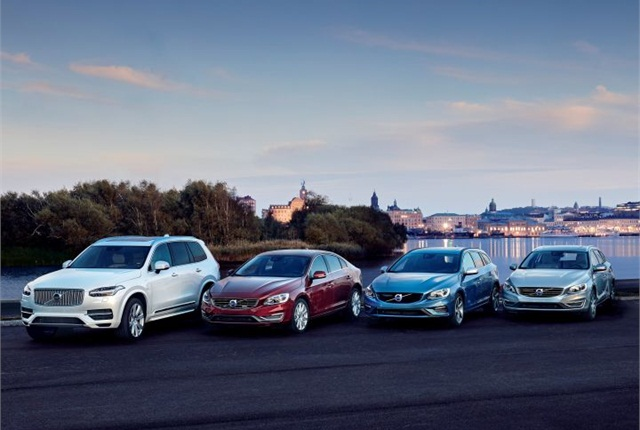 Photo of Volvo's Twin Engine vehicles courtesy of Volvo Cars.