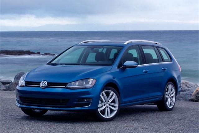 Photo of 2015 Golf SportWagen courtesy of Volkswagen.