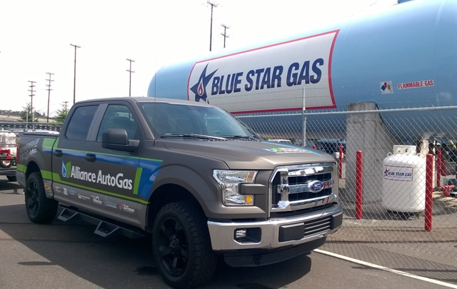 Propane vehicles are displacing about 1 million gallons of gasoline and 1,600 cubic-feet of greenhouse gas emissions annually in the Seattle area. (PHOTO: Joanne Tucker)