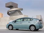 Photo of Toyota Prius Plug-in Hybrid car courtesy of Toyota.