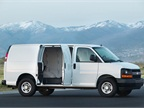 The 2014 model-year Chevrolet Express cargo van is one of the vehicles covered under the new Executive Order from CARB. (PHOTO: General Motors)