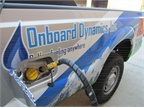 The road inspector's truck runs on gasoline and CNG. Photo courtesy of Deschutes County