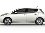 Photo of Nissan Leaf electric car courtesy of Nissan.