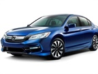 Photo of 2017 Accord Hybrid courtesy of Honda.