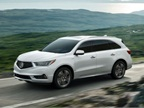 Photo of 2017 MDX courtesy of Acura.