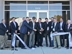 Agility executives, Board of Director members and company founders cut the ribbon that officially opens the new Salisbury, N.C. facility. Photo: Agility Fuel Systems