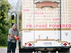 Alpha Baking received this year's Propane Autogas Fleet award. Photo courtesy of PERC.