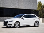 Photo of 2014 Audi A3 Sportback TDI courtesy of VW.